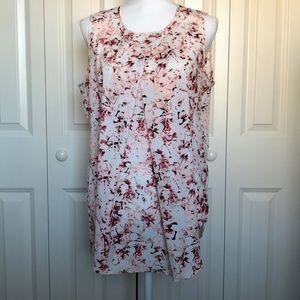 DKNY floral tunic